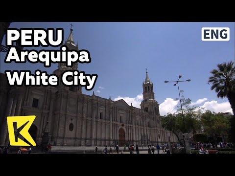 【K】Peru Travel-Arequipa[페루 여행-아레키파]백색도시 아레키파/Arequipa/White City/Plaza de Armas/Sillar