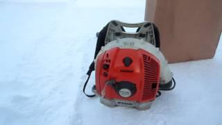 Воздуходувка Stihl Br 600 бензиновая. для дома, дачи и для пчеловодства.