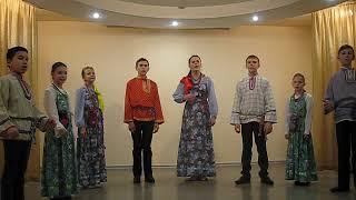 Фольклорный коллектив Покровские зореньки Ты цвети Россия