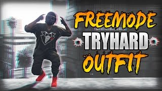 """How To Create a FreemodE """"Modded Looking"""" Tryhard Outfit   GTA 5 Online Patch 1.39"""