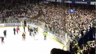 """Leksand-Rögle 130330 - Slutet av matchen - """"Vi är tillbaks!!!"""""""