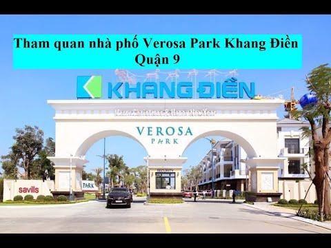 Tham quan nhà phố 5×19 dự án Verosa Park Khang Điền [ Khám phá bất động sản]