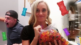 SUGAR FREE GUMMY BEAR PRANK BACKFIRE! 😱