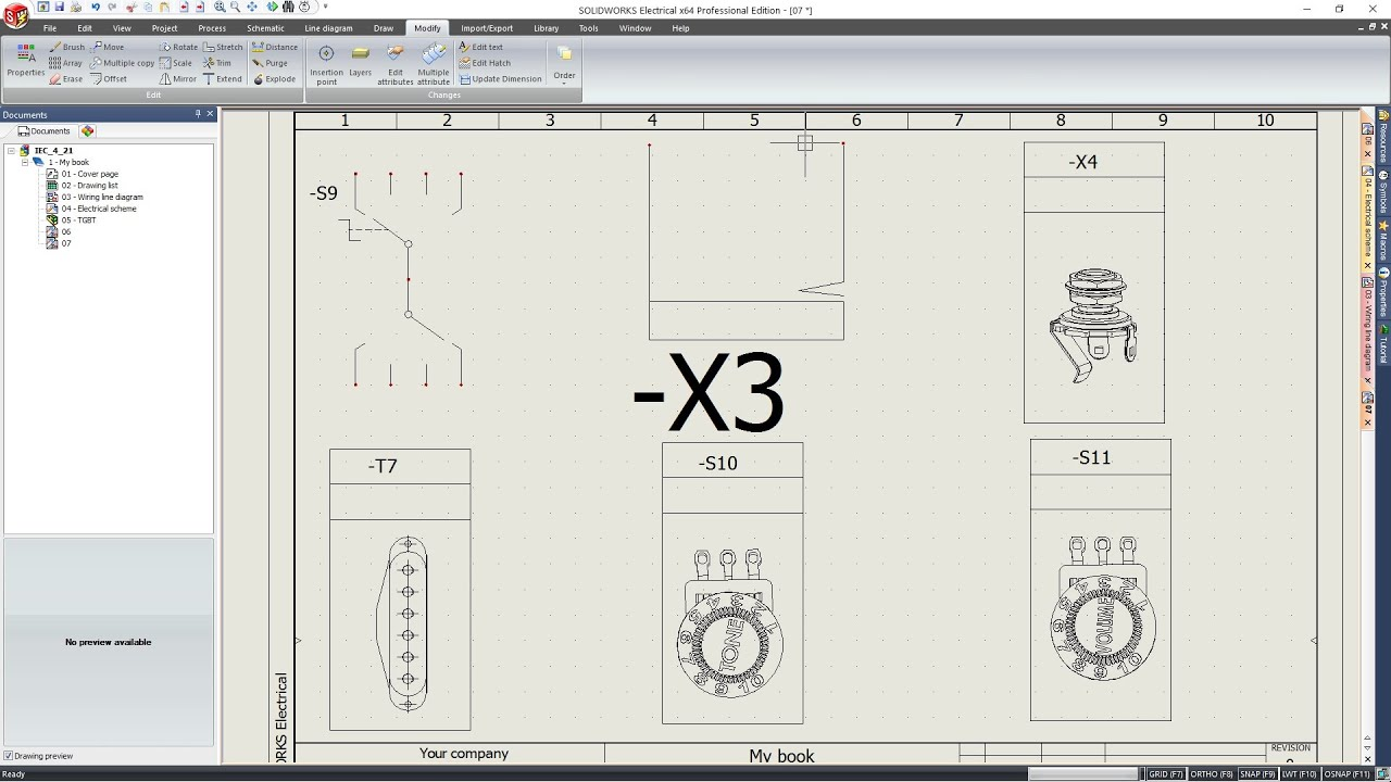 Solidworks Electrical - How To Create Symbols - Part 1  3