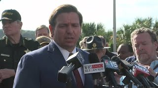 Gov. DeSantis presser on Naval Air Station Pensacola shooting