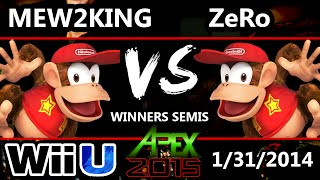 Apex 2015 - PL MVG | Mew2King (Diddy Kong) Vs. ZeRo (Diddy, Falcon) SSB4 WiS - Smash 4 - Smash Wii U