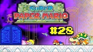 Let's Play Super Paper Mario #28 - Um Mundo Destruído!
