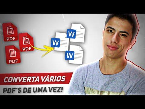 como-converter-arquivos-pdf-para-word-de-uma-só-vez!