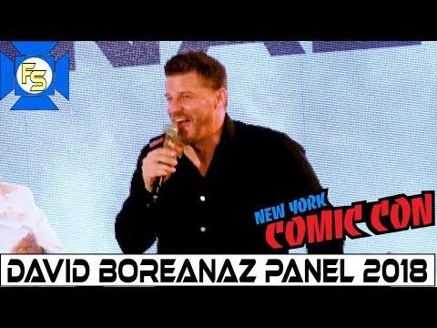 David Boreanaz (SEAL Team, Buffy, Bones) Panel - New York Comic Con 2018