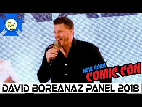 David Boreanaz SEAL Team, Buffy, Bones Panel  New York Comic Con 2018