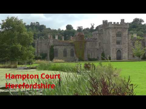 Hampton Court Castle and Gardens, Herefordshire