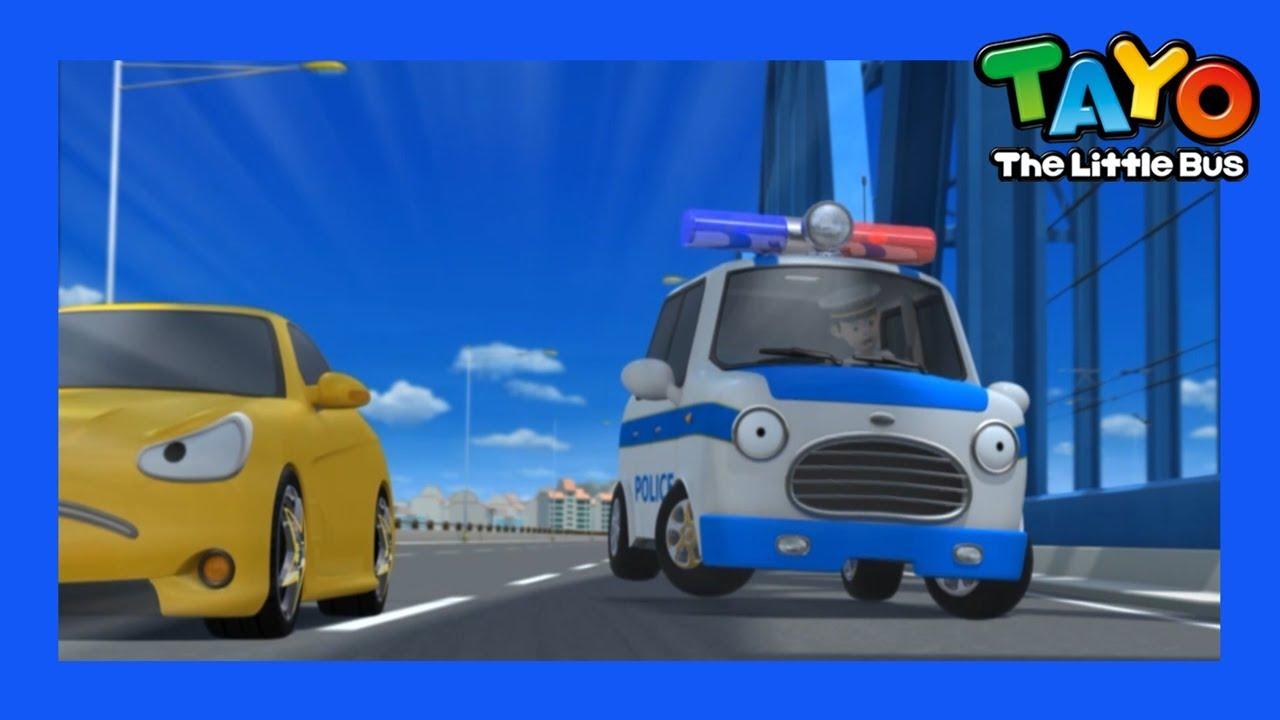 Tayo Phần đặc biệt l #55 Tôi là chiếc xe nhanh nhất l Phim hoạt hình cho trẻ em