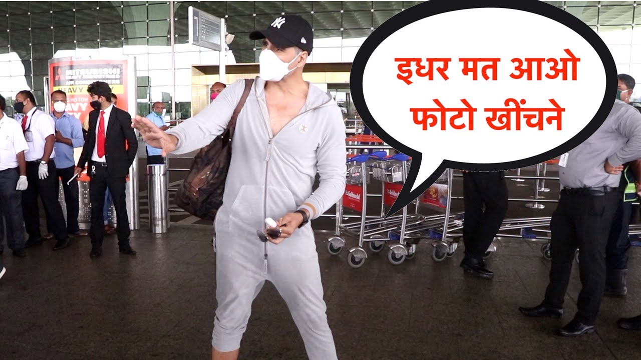 Akshay Kumar Maintain Social distancing With His Fans And Media | Akshay Kumar Outfit