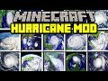 Minecraft HURRICANE MOD! | SURVIVE AGAINST REALISTIC HURRICANES! | Modded Mini-Game