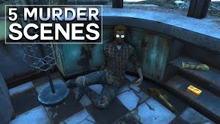 Fallout 4 - 5 Murder Scenes