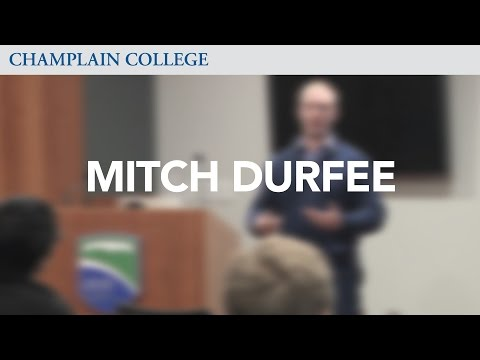 Mitch Durfee: Speaking from Experience