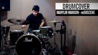 """Andres """"El Reno"""" - Marilyn Manson - mOBSCENE(drum cover)"""