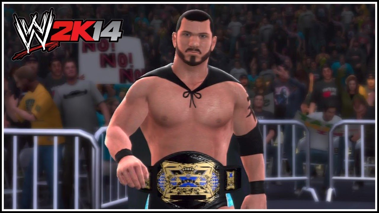 wwe 2k14 how to make the tna xdivision championship