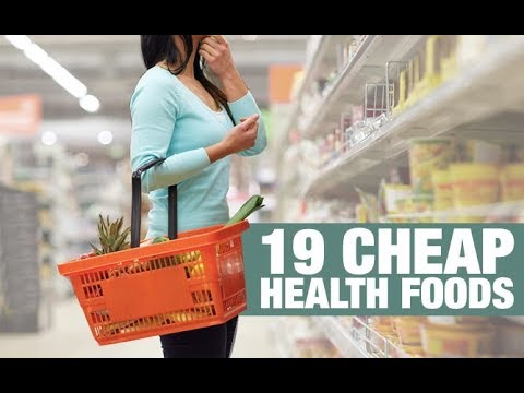 19 Cheap Health Foods for Getting Strong (AND LOSING BODYFAT!!)