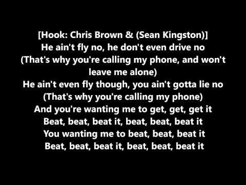 Sean Kingston - Beat it (Lyrics) Ft. Chris Brown & Wiz Khalifa
