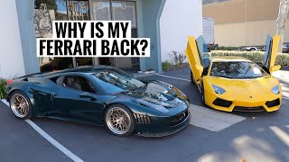 My Lamborghini Aventador VS my Ferrari GT3 458! *FINAL GOODBYE*