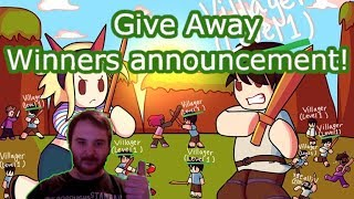 Give away 9 winners announcement ! Rpg world -Roblox