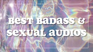 ↱ THE BEST BADASS/HOT AUDIOS (W/ EFFECTS)