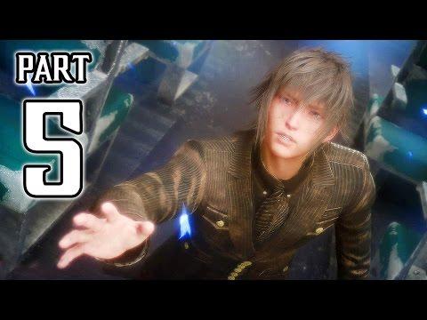 Final Fantasy XV Walkthrough PART 5 (PS4 Pro) No Commentary Gameplay @ 1080p HD ✔