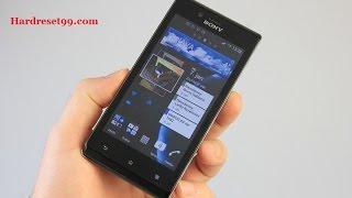 Sony Xperia J Hard reset, Factory Reset & Password Recovery