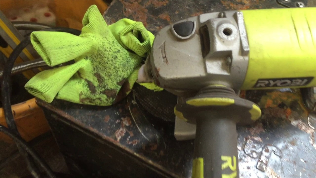 Warning Angle Grinder Accident Youtube