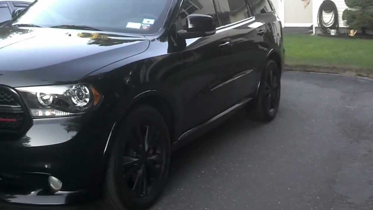 Plasti Dipped My 11 Durango Rt Youtube
