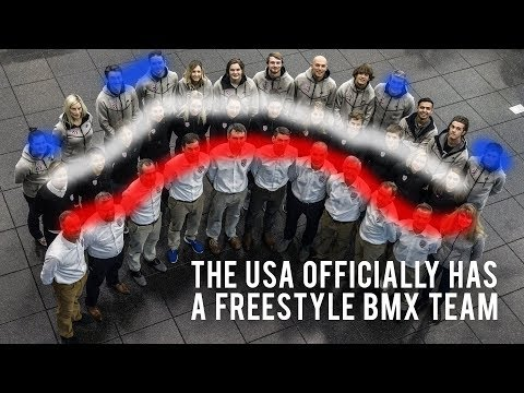 The USA Officially Has a Freestyle BMX Team