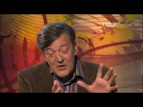 Stephen Fry interviews Bryn Terfel at the BBC Proms 2010