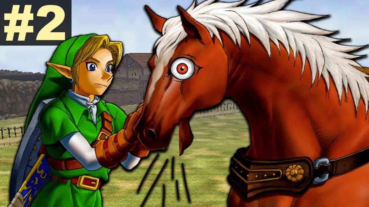 Zelda: Ocarina of Time Skullsanity Randomizer - Part 2 (Screaming Horses?)  by AttackingTucans