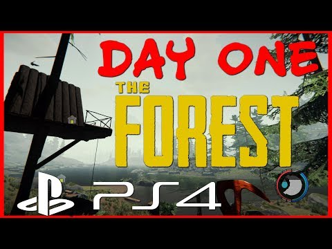 The forest PS4 | Day One | ep1
