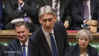 Hammond's U.K. Budget Announcement in Two Minutes