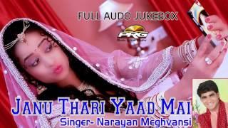 Janu Thari Yaad Mai जानू थारी याद मे || Narayan Meghvansi || DJ MIX ॥ FULL AUDIO JUKEBOX ॥ PRG & RDC