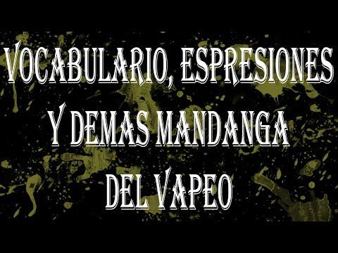 APV 221. Diccionario y Expresiones del Vapeo