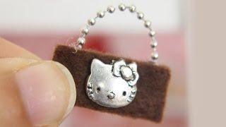 DIY   Miniature Purse - simplekidscrafts
