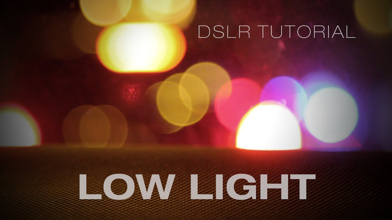 & DSLR video: Tips for filming at night u0026 in low light - YouTube