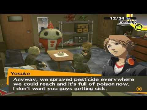 Persona 4 - Christmas Eve - Dudes (Kanji, Teddie & Yousuke) - YouTube