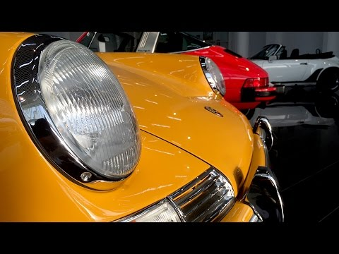 Wonderful Porsche Collection at Tomini Classics Dubai
