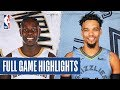 PELICANS at GRIZZLIES | FULL GAME HIGHLIGHTS | January 20, 2020