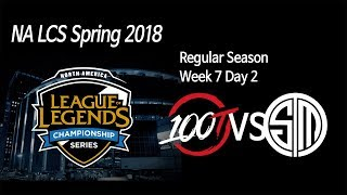Video [ 100 Thieves vs TSM ] - 2018 NA LCS Spring Week 7 Day 2 180305 download MP3, 3GP, MP4, WEBM, AVI, FLV Juni 2018