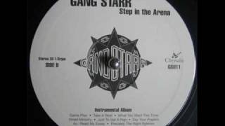 Gang Starr - As I read My S A (instrumental)