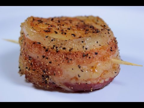 bacon-wrapped-scallops- -easy-to-learn- -quick-recipes