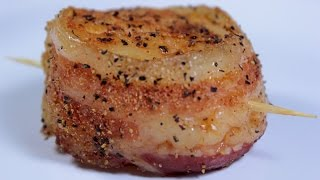 Bacon Wrapped Scallops  EASY TO LEARN