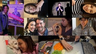 VLOG | HAPPY NEW YEAR! 5 days of fun and touching Chris Young's butt!