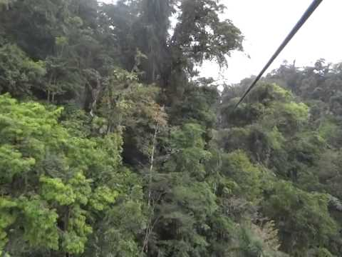 Costa Rica Zip Lining - Cable 7 (980 meters)