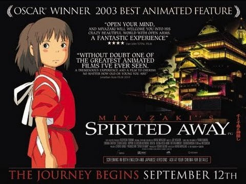 Spirited Away Movie Review - YouTube